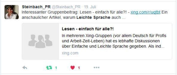 Steinbach-PR Lesen-einfach-fuer-alle Twitter 19.7.16