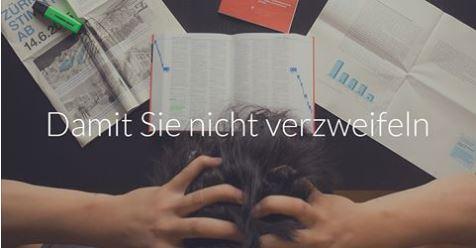 Motiv der Webseite von Einfache Sprache Schweiz